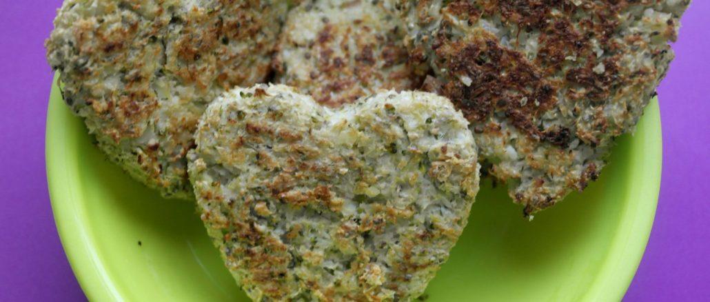 Chiftelute cu broccoli, curcan si seminte de chia diversificare retete copii
