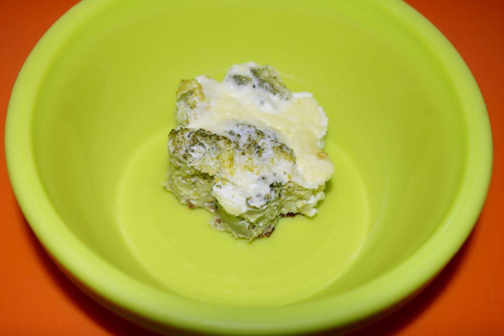 retete cu broccoli pentru copii, diversificare, budinca de broccoli, retete sanatoase pentru copii