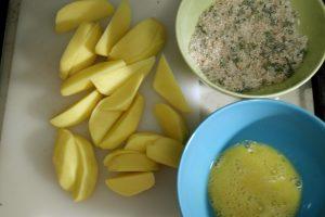 retete pentru copii, cartofi wedges, cartofi la cuptor, retete sanatoase pentru copii