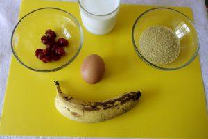 diversificare, retete sanatoase pentru copii, cuscus, retete pentru copii, cuscus cu banana