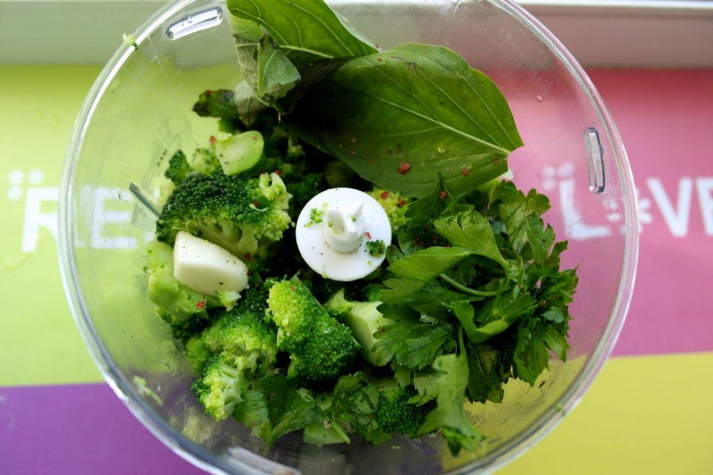 retete de paste pentru copii, diversificare, paste cu sos pesto, broccoli