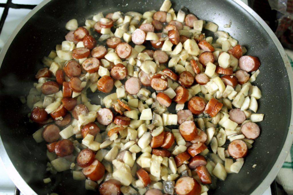 cele mai rapide ciuperci umplute, ciuperci umplute rapide, reteta ciuperci umplute