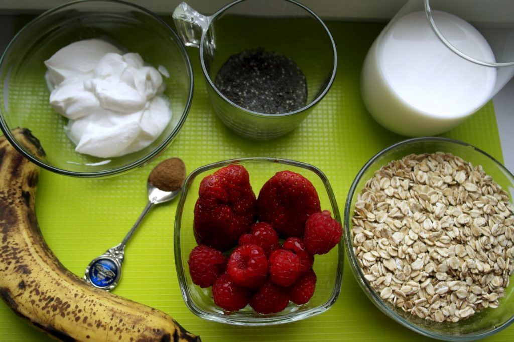 briose cu fructe, gustare pentru copii