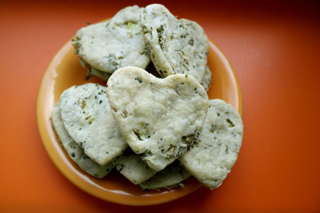 retete pentru copii, biscuiti cu broccoli, retete de biscuiti