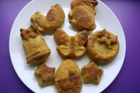 diversificare, biscuim, retete biscuim, retete de briose pentru copii, briose pentru copii, briose fara lactate, briose cu banana si mar
