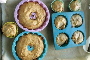 diversificare, biscuim, retete biscuim, briose cu banane, briose pentru copii, retete de briose pentru copii, retete cu banane pentru copii