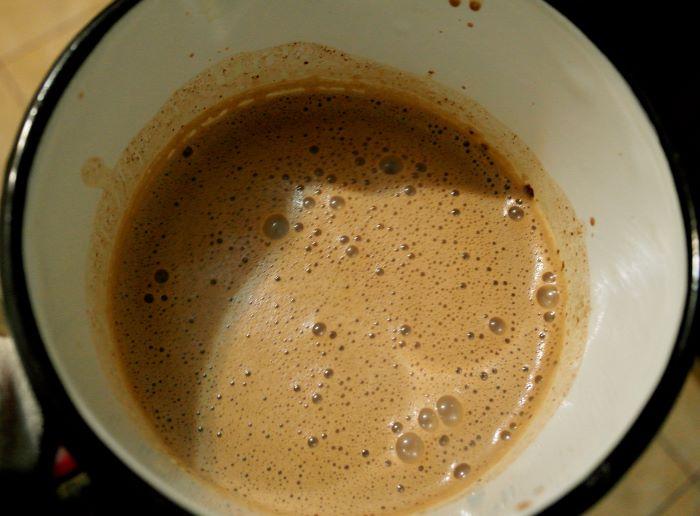 ciocolata calda facuta in casa, biscuim