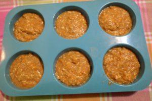 briose cu morcov, briose pentru copii, biscuim
